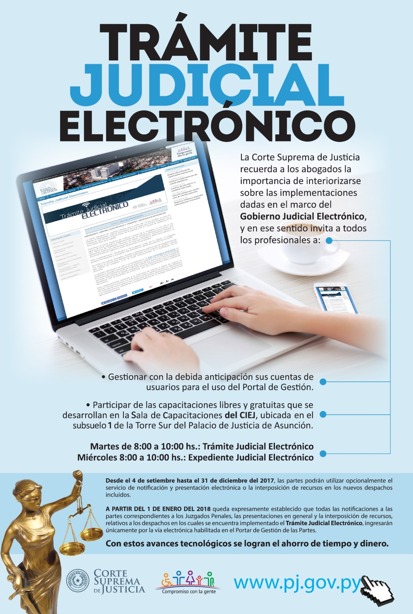 Trámite Judicial Electrónico - Poder Judicial