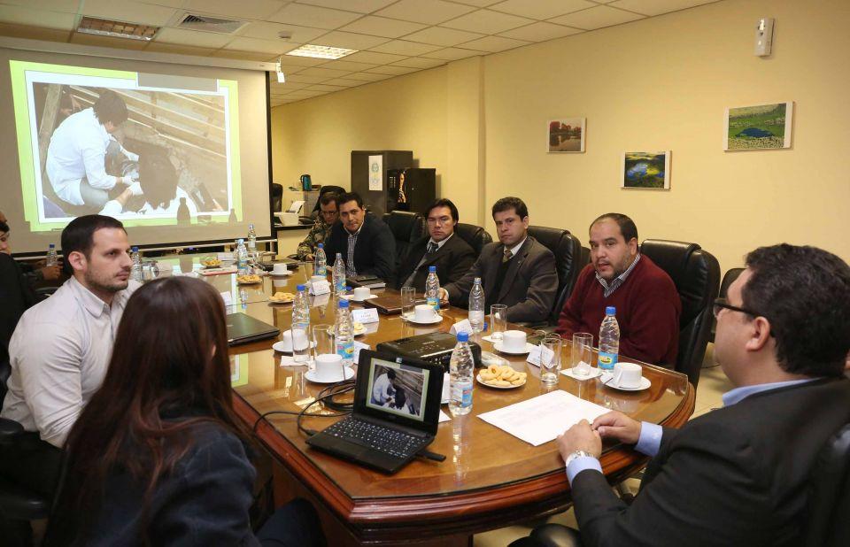Autoridades institucionales trataron problem tica for Direccion de ministerio de interior y justicia