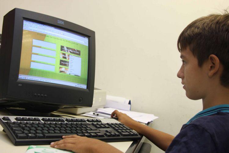 Habilitan Juegos Electronicos Para Que Los Ninos Se Capaciten En El